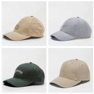 Baseball Caps (14 Colours) - Melton £2.70 / MBL £3.60 With Code + Free Next Day Delivery @ Burton