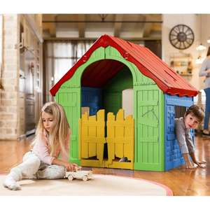 Keter Wonderfold Kids Portable Indoor / Outdoor Foldable Playhouse - £50 (Free click & collect) @ Homebase
