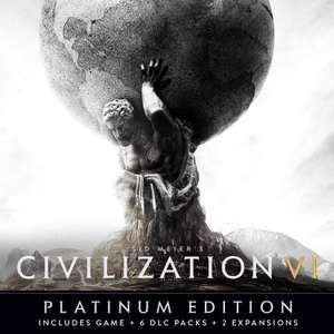 Sid Meier's Civilization VI Platinum Edition (Mac, Linux, PC) £7.49 @ WinGameStore