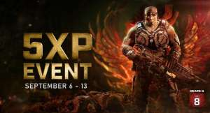 XBOX Gears5 5x XP event! Play any PvP/PvE event this weekend to get 'Gears Of War' V-Day Marcus