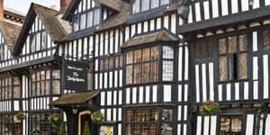Stratford-upon-Avon stay in a 15th century Town-house with Full English Breakfast & Bottle of Wine for Two £69 Per couple @ Travelzoo