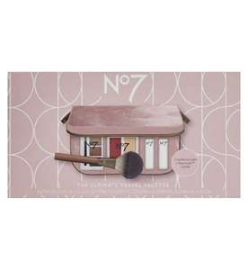 No7 Swarovski The Ultimate Travel Palette - £15 + free Click and collect / 6 for £40 delivered at Boots
