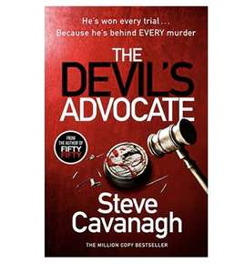 The Devil's Advocate: The Sunday Times Bestseller and follow up to THIRTEEN and FIFTY FIFTY (Eddie Flynn Series) 99p Kindle edition @ Amazon