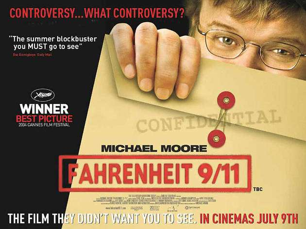 Michael Moore's Fahrenheit 9/11 Documentary - Free Streaming @ Michael Moore Youtube Channel - hotukdeals