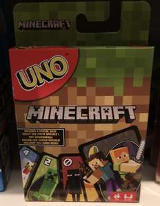 Uno Minecraft Edition - £2.10 instore @ Sainsbury's (Colne, nr Blackburn)