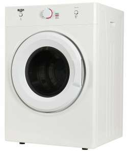 Bush DHB7VTDW 7KG Vented Tumble Dryer - White - £154.99 delivered @ Argos / eBay
