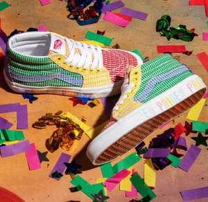 Vans Sk8-Mid Pride Trainers Now £26.99 + Free delivery @ Schuh
