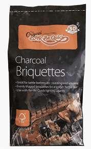 Charcoal Briquettes 4.5Kg - £0.10 @ B&M (Robroyston, Glasgow)
