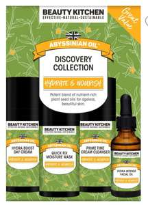 Beauty Kitchen Abyssinian Oil discovery collection - £9.99 in store at T K Maxx (Nuneaton)