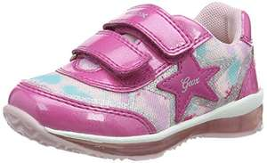 Girls geox trainers with lights size 6 £12.61 prime + £4.49 non prime @ Amazon