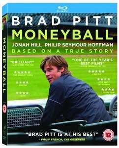 Moneyball Blu-ray £4 (+ £2.99 Non prime) @ Amazon