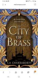 The City of Brass by S. A. Chakraborty (Book 1 of 3: The Daevabad Trilogy) - Kindle edition only 99p @ Amazon