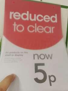 Vegetable seeds clearance 5p per package instore @ Wilko Brentwood