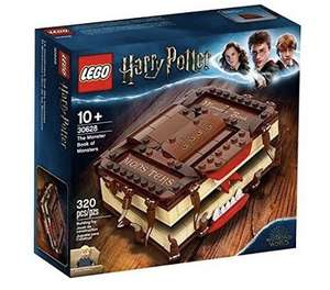 Free Lego Harry Potter Monster Book of Monsters with £75 spend on Harry Potter Lego + Sailboat + Charles Dickens GWP at Lego Shop