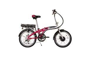 Swifty Folding Electric Bike Silver/Pink now 337.39 @ Amazon