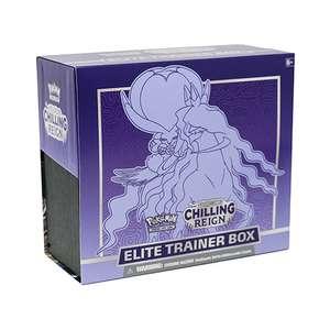Pokemon tcg: sword & shield chilling reign elite trainer box £31.79 + £2.99 delivery @ Zatu Games
