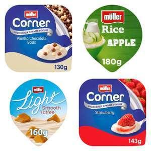 Muller Corner / Light Yoghurts or Rice Desserts - 10 for £3 @ Morrisons