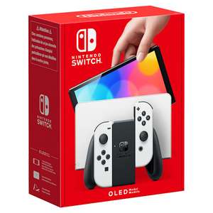 Nintendo Switch – OLED Model (White I Neon Blue/Neon Red OOS) 64GB £278.99 via StudentBeans' Unique Code @ Nintendo Shop