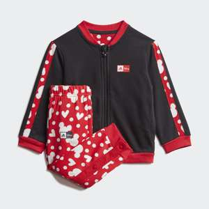 Kids Disney Minnie Mouse Jogging Set £17.15 with code + Free Delivery with Creators Club @ adidas