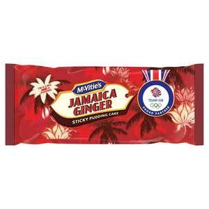 McVitie's Jamaica Ginger Sticky Pudding Cake - 64p from Asda