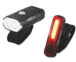Bikemate Front + Rear LED CREE Bike Lights - £14.99 / £17.94 delivered @ (UK Mainland) Aldi