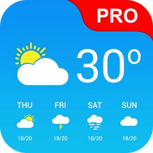 Weather App Pro - Temporarily Free @ Google Play Store