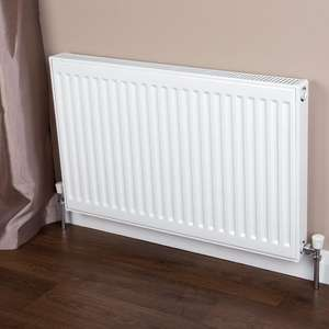 Radiators from £13.99 e.g DeLonghi Single Type 11 Convector Radiator White - H 500 x W 600mm + £5.99 delivery @ Brooklyn Trading