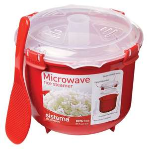 Sistema Microwave Rice Steamer 2.5l £5 (Clubcard Price) @ Tesco