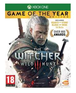 The Witcher 3: Wild Hunt - Game of the Year Edition (Xbox One) £11.95 @ The game collection