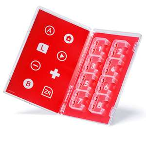 Nintendo Switch Card Case £1.99 and 500 Platinum Points @ My Nintendo Store