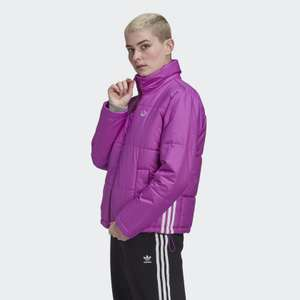 Women's Short Puffer Jacket in shock Purple Now £39.95 with code + Free Delivery From Creators club @ adidas