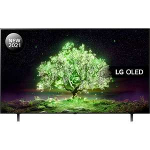 LG OLED65A16LA (2021) OLED HDR 4K Ultra HD Smart TV, 65 inch with Freeview Play/Freesat HD & Dolby Atmos £1340.10 (UK Mainland) at ao