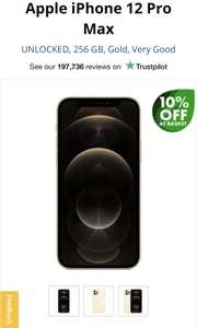 Apple iPhone 12 Pro Max 256GB Refurbished - Very Good - £859.99 Music Magpie (£50 Discount applied at basket)