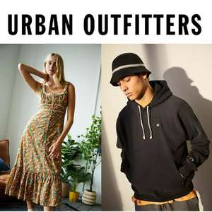 Up to 65% Off the Urban Outfitters Sale + Extra 15% Off using code + Free delivery on £30 spend (otherwise £3.99) @ Urban Outfitters