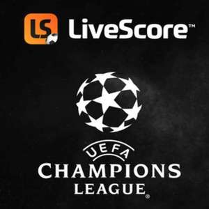 Stream every Champions League game (App users in Ireland / VPN Required for Non Ireland users) Free @ LiveScore