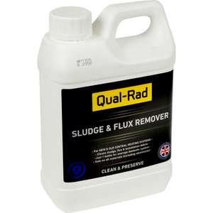 Qual Rad Central Heating Cleanser 1L, Descaler / Silencer 1L, Leak Sealer 1L, Inhibitor 1L £2.97 each Free C&C / Limited Stock @ Toolstation