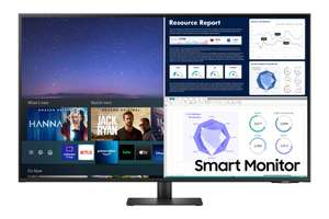 """Samsung 43"""" M70A UHD, USB-C/ 3840x2160/ HDR10 Smart Monitor with Speakers & Remote PLUS free Galaxy buds live £423.20 @ Samsung EPP"""