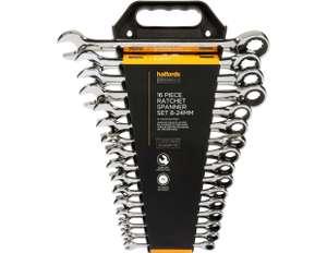 Halfords Advanced 16pcs Ratchet Spanner Set - £59 delivered @ Halfords