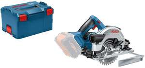 Amazon. Bosch Professional 18 V System cordless circular saw GKS 18 V - 57 G without Batteries and Charger, in L - Boxx £110.99 Amazon