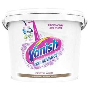 Vanish Fabric Stain Remover Gold Oxi Action Powder, Crystal White, 2.4 kg £11.89 Prime + £4.49 NonPrime @ Amazon