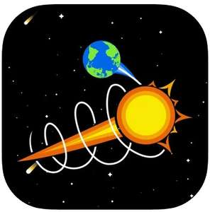 Starship Earth (Full version). The solar system in motion. Temporarily free for iOS on AppStore.