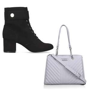 Up to 70% Off selected Bags & Shoes + Extra 10% Off with code + Free premium protector spray worth £10 (+ £3.50 delivery) @ Shoeaholics