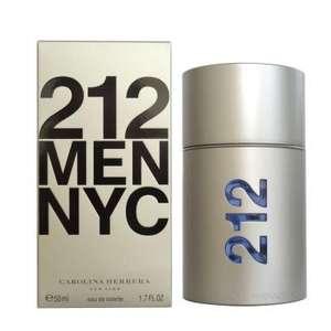 Caroline Herrera 212 Men EDT Spray 100ml - £33.85 Free delivery @ perfumeshopping.com