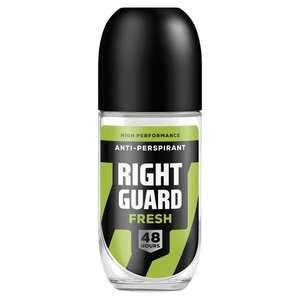 Right Guard Mens Roll on Antiperspirant 50p @ B&M Oldham