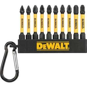 DeWalt Impact Screwdriver Keyring Set of 10 (57mm) £4.99 (Free Click & Collect) @ Toolstation