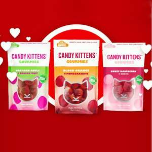 Free Candy Kitten Gourmies bundle + delivery £3.49 @ Vodafone VeryMe Rewards on 17th September