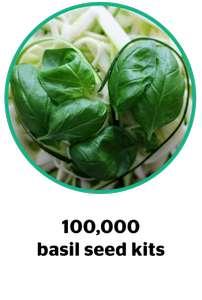 Free Basil Seed Kits at Together TV