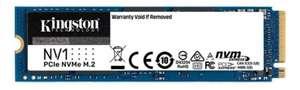 1TB - Kingston SNVS/1000G NVMe NV1 M.2 (2280) PCIe 3.0 (x4) NVMe SSD, 3D-NAND, 2100MB/s Read, 1700MB/s Write - £69.98 delivered @ Scan