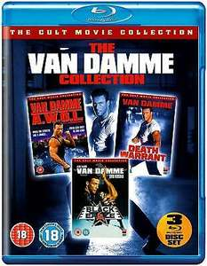 The Van Damme Collection Awol /Death Warrant / Black Eagle [Blu Ray] £6.50 delivered at smileyjanesstore eBay