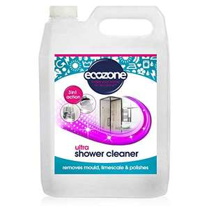 Ecozone Anti-Bacterial Spray & Leave Ultra Shower Cleaner, 1 Count £7.70 (Prime) + £4.49 (non Prime) at Amazon